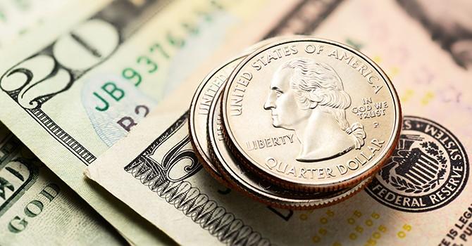 Giá đồng USD trôi về đáy 10 tháng sau số liệu lạm phát