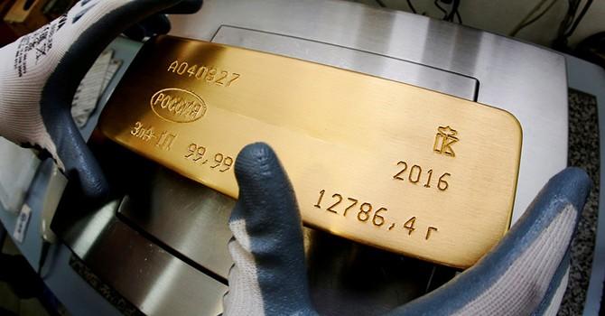 Giá vàng rời đỉnh 11 tháng do kinh tế Mỹ cải thiện