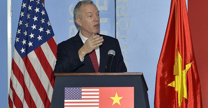 Outgoing U.S. Ambassador Ted Osius to Lead Fulbright Vietnam University