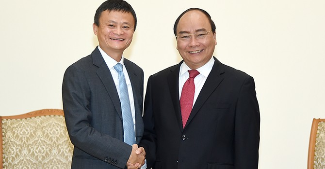 Vietnam Has Huge Potential for E-Commerce: Jack Ma