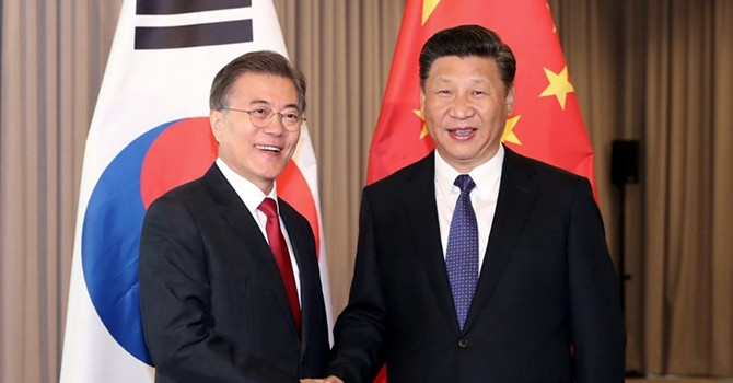 Gác lại bất đồng, Trung Quốc muốn bắt tay Hàn Quốc trong vấn đề Triều Tiên