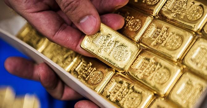 Giá vàng lên đỉnh 3 tuần