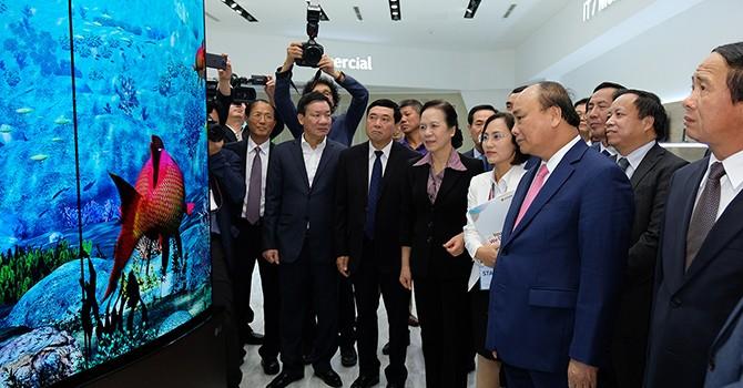 LG Display Puts $1.5-Billion Vietnam Plant into Operation