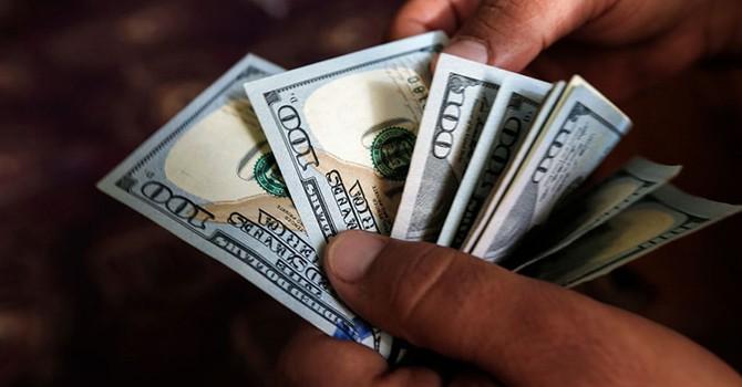 Đồng USD sụt giá mạnh về đáy nhiều tuần