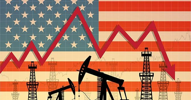Giá dầu thô Mỹ giảm mạnh, chuỗi tăng 5 tháng bị gãy