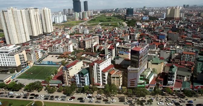 """Nhà ở Hà Nội: """"Sốt"""" cao cấp, rớt giá bình dân"""