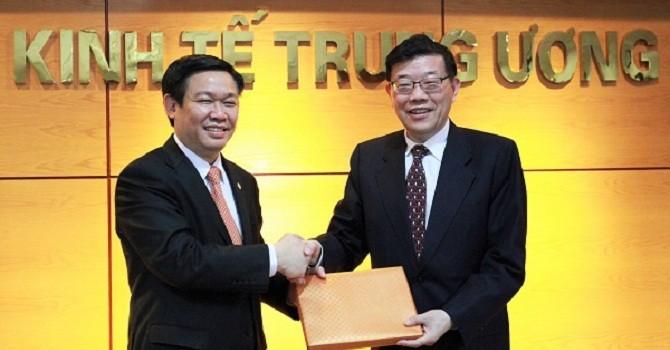 Ban Kinh tế Trung ương làm việc với Quốc Vụ viện Trung Quốc