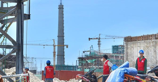 Một tập đoàn nước ngoài muốn xây cảng tại Formosa Hà Tĩnh