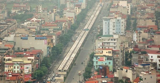 Gia hạn thi công tuyến đường sắt đô thị Cát Linh – Hà Đông
