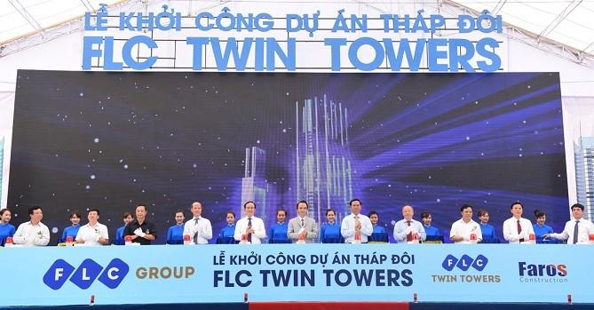 FLC khởi công tòa tháp đôi cao thứ 3 Hà Nội