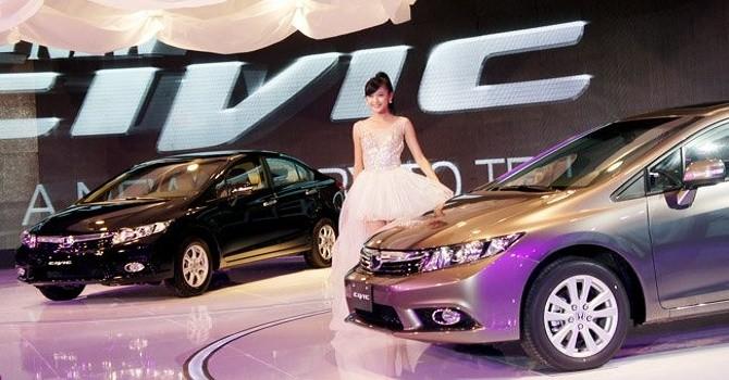 Triệu hồi hơn 21.000 xe Honda Civic và CR-V bị lỗi túi khí