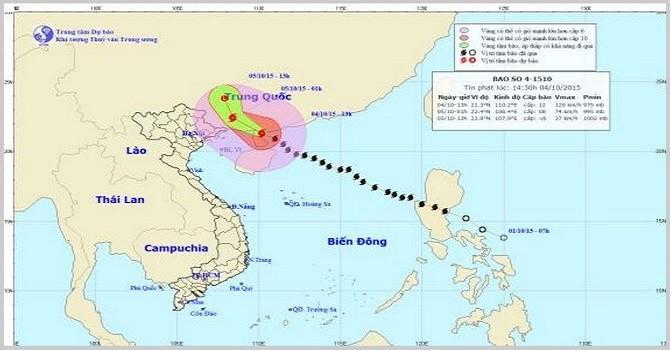 Bão số 4 chuyển hướng, Đông Bắc Bắc Bộ đề phòng lũ quét, sạt lở đất