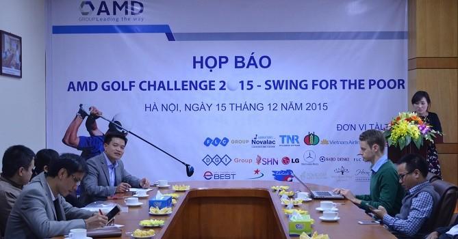 AMD Golf Challenge 2015 sắp khởi tranh với 20 tỷ đồng giải thưởng