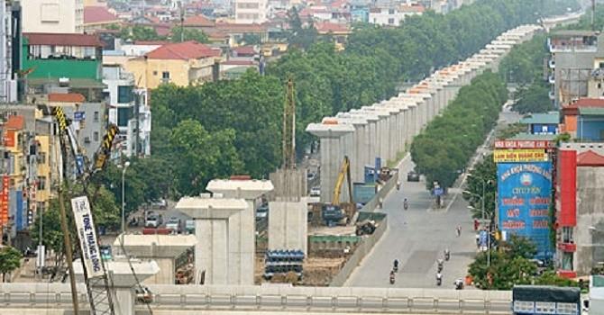 Soi tiến độ 3 siêu dự án giao thông tại Hà Nội