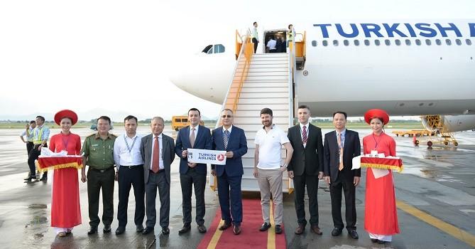 Khai trương đường bay thẳng Thổ Nhĩ Kỳ đến Hà Nội, TP. HCM