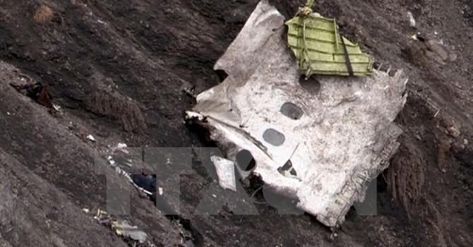 Tìm thấy hộp đen thứ hai của chiếc máy bay bị rơi tại Pháp
