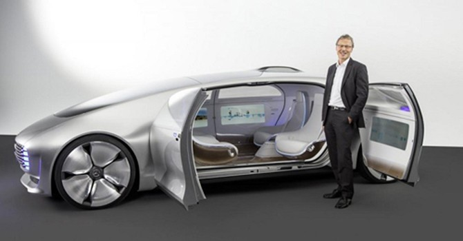 10 mẫu xe của tương lai gần