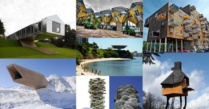 Những kiến trúc thách thức trọng lực tuyệt đẹp