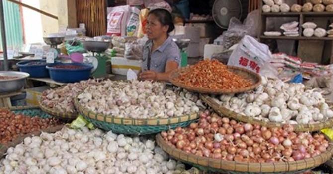 Nông sản Trung Quốc chiếm chợ đầu mối
