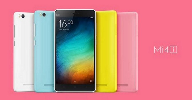 Xiaomi Mi 4i chính thức ra mắt: 5 inch Full-HD, tám lõi, giá 200 USD