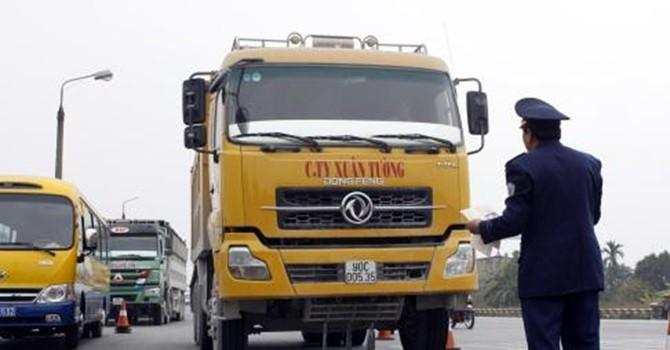 Cần xử lý mạnh tay xe chở hàng quá tải