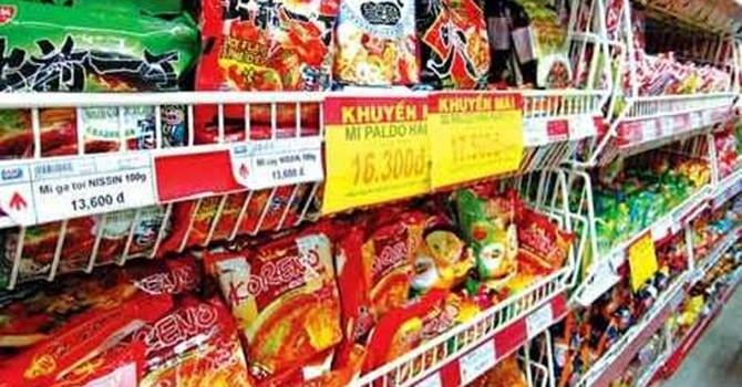 Hàng Hàn Quốc giá rẻ sẽ tràn vào Việt Nam