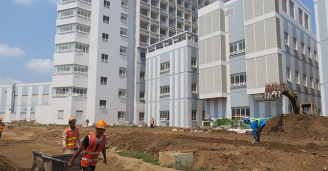 Xây bệnh viện sai thiết kế: phạt đơn vị tư vấn khảo sát 50 triệu đồng