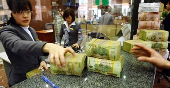 Lượng tiền gửi tiết kiệm ngân hàng tăng