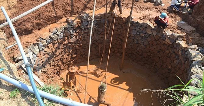 Lý Sơn khô hạn nghiêm trọng do dân đào giếng