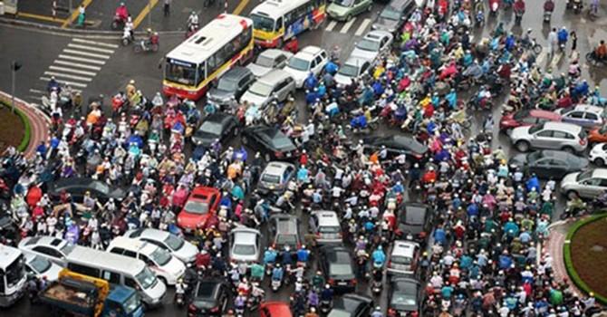 Chưa xóa xe máy, Việt Nam không thể khuyến khích ôtô