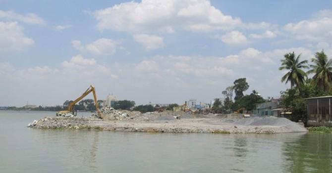 Bộ NN&PTNT lên tiếng vụ lấn sông Đồng Nai