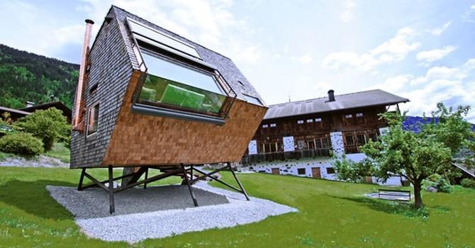 Những căn nhà nhỏ nổi tiếng với ý tưởng độc đáo