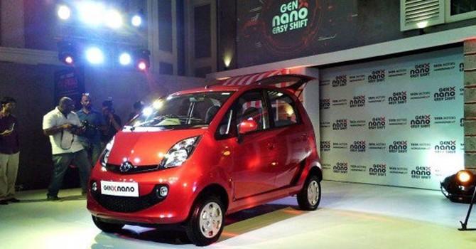 """Chiêm ngưỡng """"Siêu xe nhà nghèo"""" Tata GenX Nano giá 3.116 USD"""