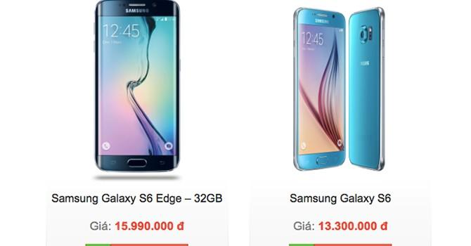 Galaxy S6 xách tay về ồ ạt, máy chính hãng loạn giá
