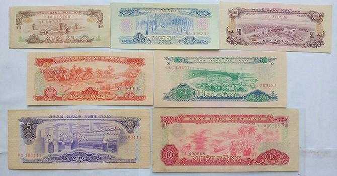 Thưởng thức nét đẹp tiền Việt Nam qua các thời kì