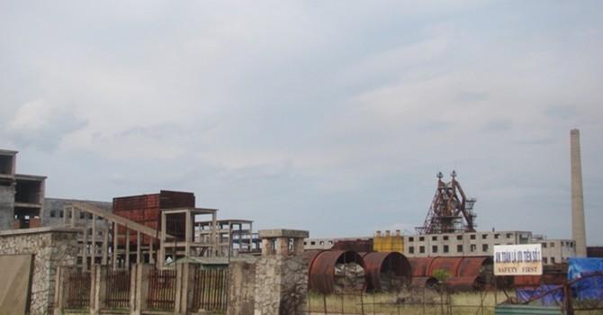 """Cận cảnh """"đống sắt vụn"""" nhà máy thép nghìn tỷ sắp khai tử ở Vũng Áng"""
