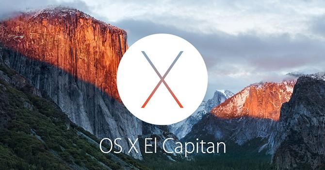 Apple giới thiệu hệ điều hành OS X El Capitan mới
