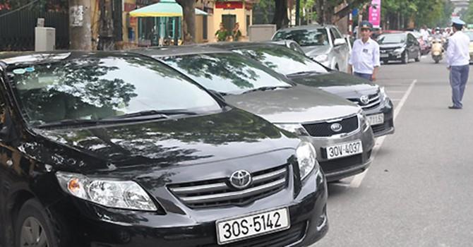 Hà Nội mở rộng việc trông giữ ôtô dưới lòng đường