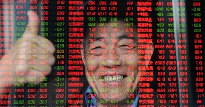 """Chứng khoán Trung Quốc """"sốt cao"""""""