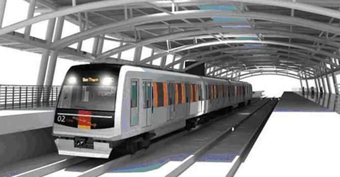 Tuyến metro số 2 sẽ hoàn thành năm 2022