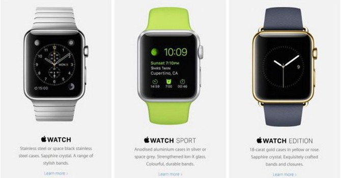 Apple Watch chính thức mở bán thêm tại 7 quốc gia