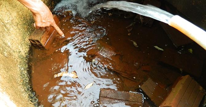 Nguồn nước ngầm nhiều khu vực đang bị ô nhiễm nặng
