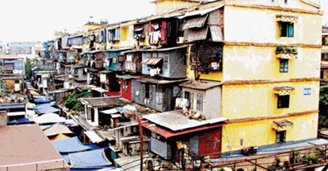 Ỳ ạch cải tạo chung cư cũ