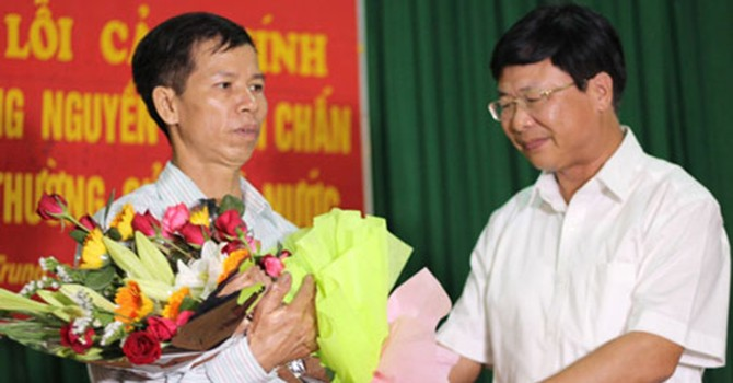 Tòa án: Không trì hoãn bồi thường oan sai cho ông Chấn