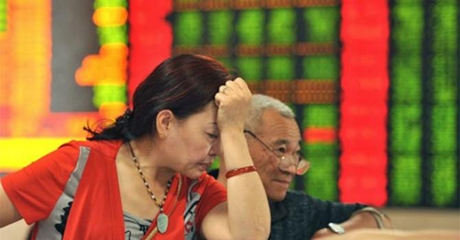 Hàng trăm công ty Trung Quốc ngừng giao dịch cổ phiếu