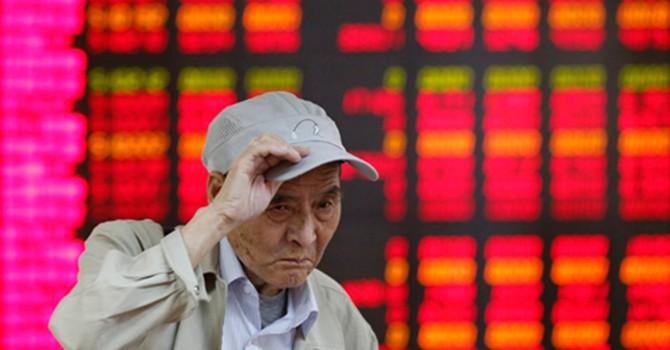 Chứng khoán - điềm gở cho kinh tế Trung Quốc