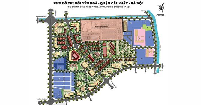 Thanh tra dự án khu đô thị mới Yên Hòa