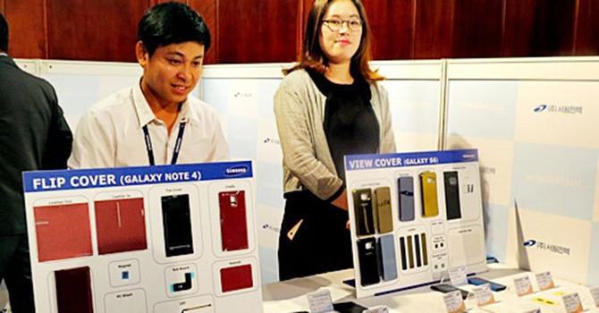 Doanh nghiệp Việt khó đặt chân vào chuỗi cung ứng của Samsung
