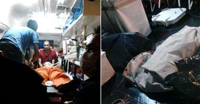 Malaysia sơ tán 28 thuyền viên Việt Nam khỏi tàu nhiễm khí