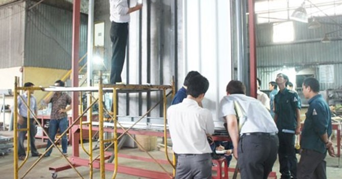 Công trình sử dụng vốn ngân sách chê hàng Việt